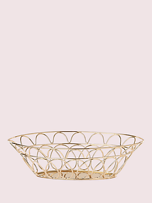arch street bread basket by kate spade new york non-hover view