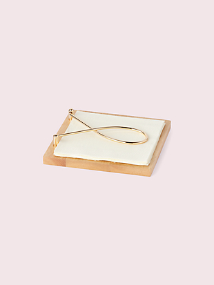 arch street napkin holder by kate spade new york hover view