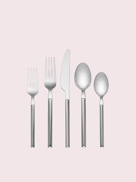flatware silver polish 5-piece set by kate spade new york