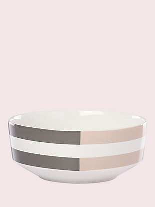 nolita grey soup/cereal bowl by kate spade new york non-hover view