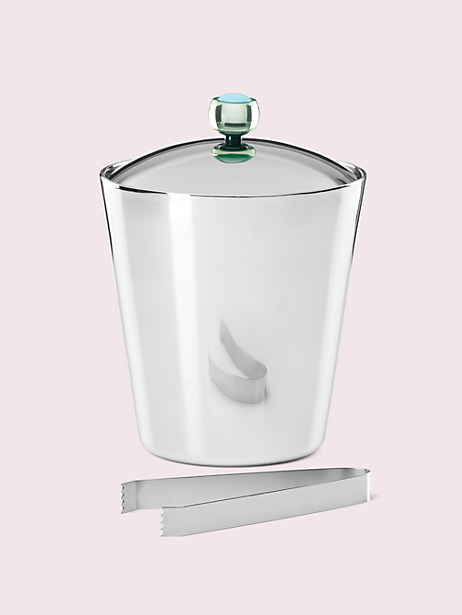 nolita ice bucket & tongs by kate spade new york