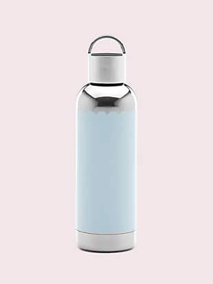 hydration blue scallop water bottle by kate spade new york non-hover view