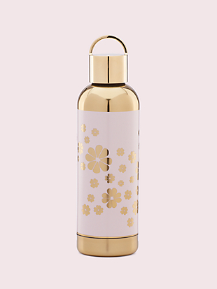 hydration blush spade flower water bottle by kate spade new york non-hover view