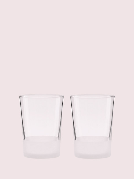 nolita 12oz glass set by kate spade new york