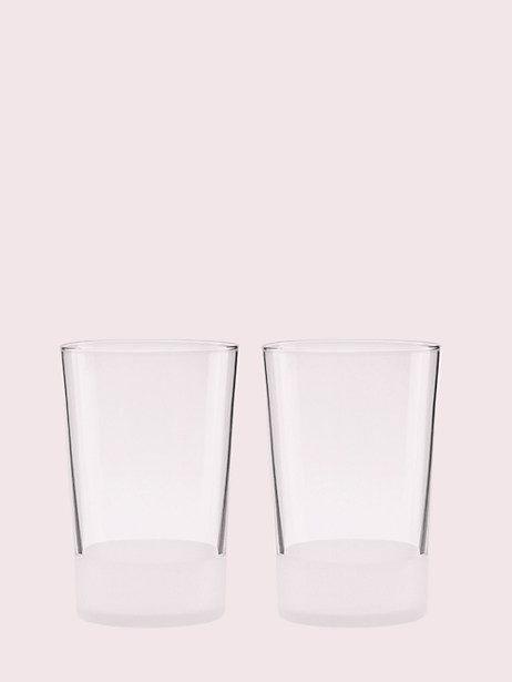 nolita 16oz glass set by kate spade new york