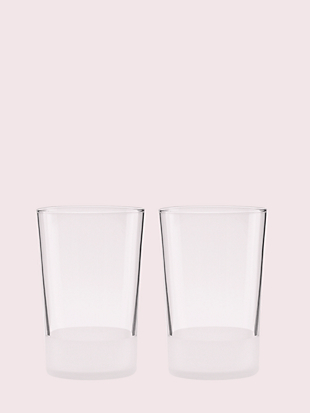 nolita 16oz glass set by kate spade new york non-hover view