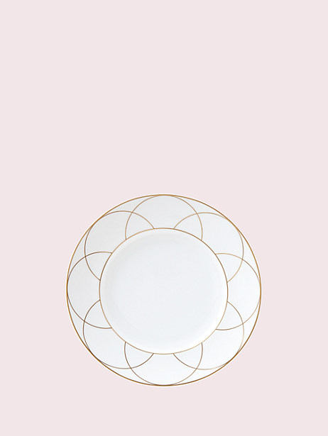 arch street salad plate by kate spade new york
