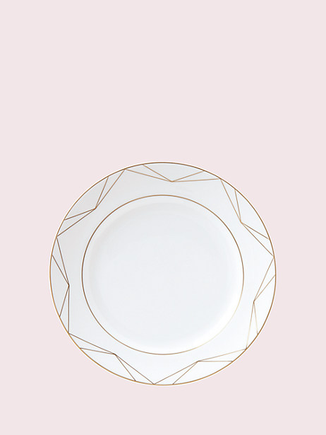 arch street dinner plate by kate spade new york