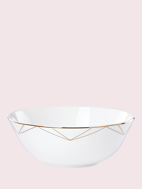 arch street serving bowl by kate spade new york