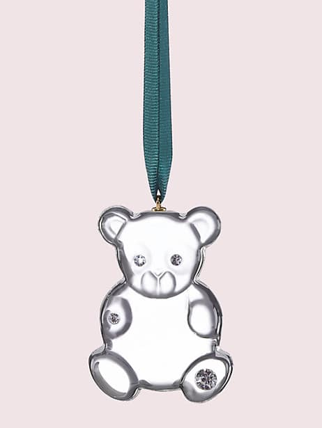 first snow baby's first bear ornament by kate spade new york