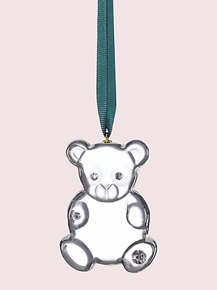 first snow baby's first bear ornament by kate spade new york non-hover view
