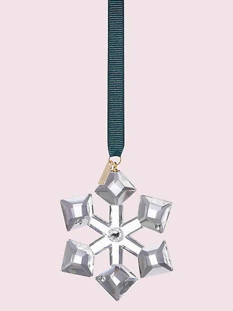 first snow snowflake ornament by kate spade new york
