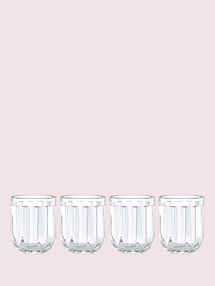 park circle 12 oz glass set by kate spade new york non-hover view