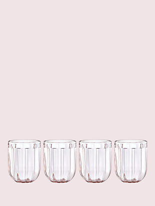 park circle set of 4 12 oz glasses by kate spade new york non-hover view