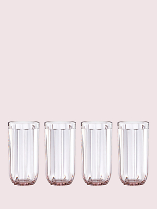 park circle set of 4 16 oz glasses by kate spade new york non-hover view