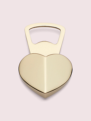 park circle heart bottle opener by kate spade new york non-hover view