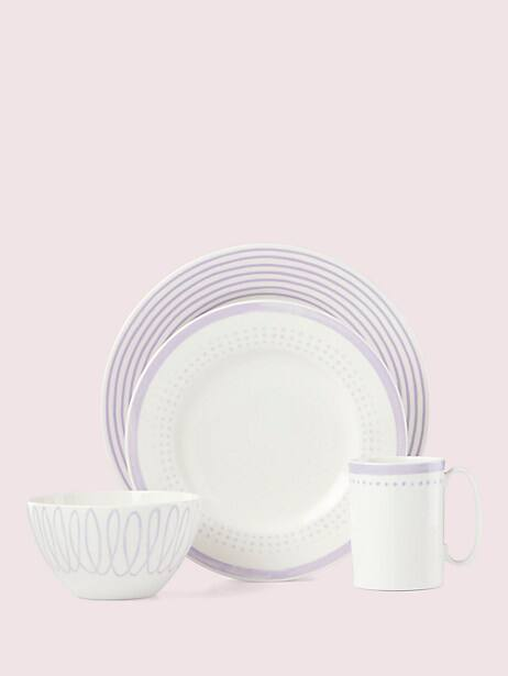 charlotte street east 4-piece place setting by kate spade new york