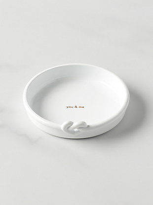 with love ring dish by kate spade new york hover view