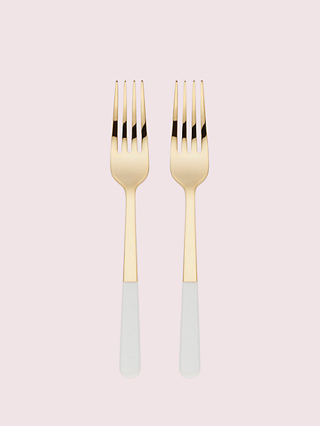 with love tasting fork set by kate spade new york