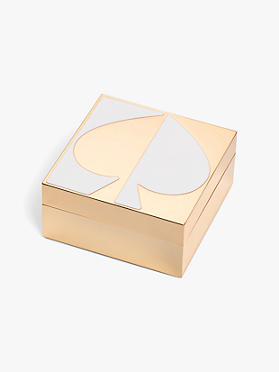 spade street keepsake box by kate spade new york non-hover view