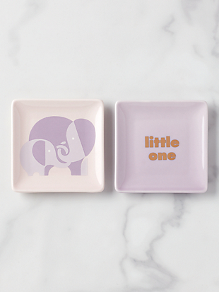 sweet talk little one dish set by kate spade new york hover view