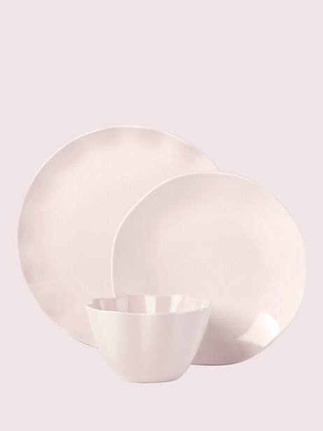 petal lane blush 3-piece place setting by kate spade new york