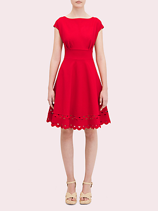 ric rac ponte dress by kate spade new york non-hover view