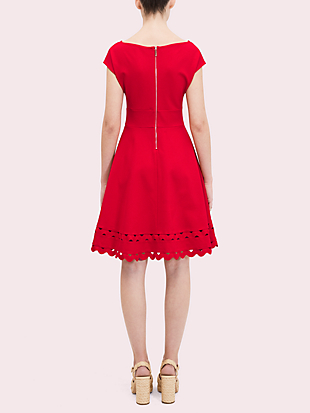 ric rac ponte dress by kate spade new york hover view