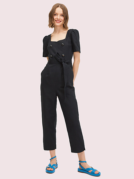 twill jumpsuit by kate spade new york