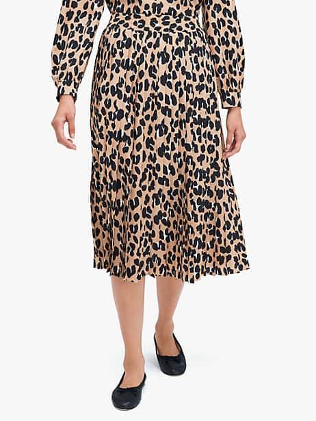 forest feline midi skirt by kate spade new york
