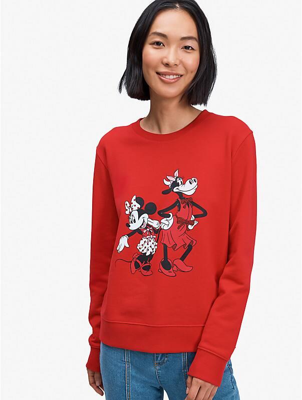 disney x kate spade new york clarabelle & friends sweatshirt, , rr_large