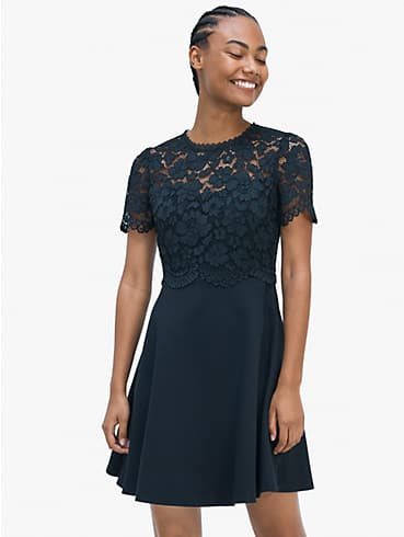 rose lace-bodice ponte dress, , rr_productgrid