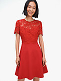 rose lace-bodice ponte dress, , s7productThumbnail