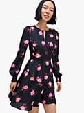 rose garden smocked satin dress, , s7productThumbnail