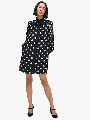 cat dot shirtdress by kate spade new york non-hover view