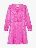 jewel-button jacquard dress, , s7productThumbnail