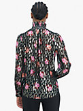 rose garden smocked neck top, , s7productThumbnail