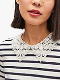 lace collar striped tee, , s7productThumbnail