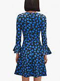 poetic floral ponte dress, , s7productThumbnail