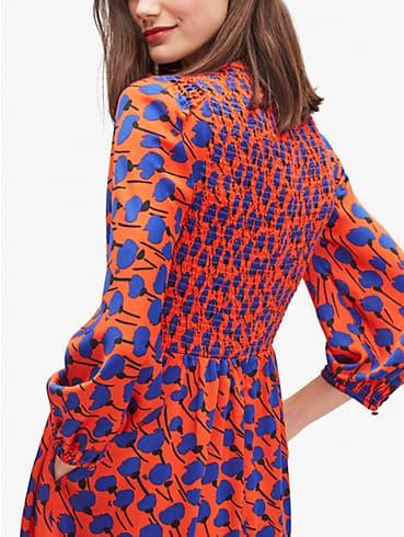 Poetic Floral Kleid, gesmokt, , rr_productgrid