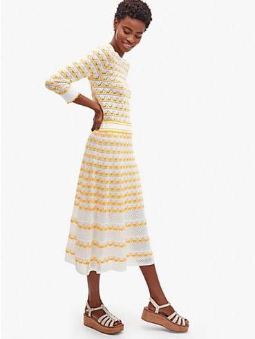 Pullover aus Pointelle mit Streifen, , rr_productgrid