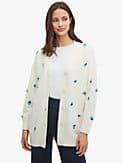 dainty bloom appliqué cardigan, , s7productThumbnail