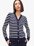 striped v-neck cardigan, , s7productThumbnail