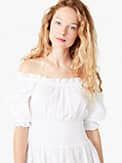 broderie anglaise smocked-waist dress, , s7productThumbnail