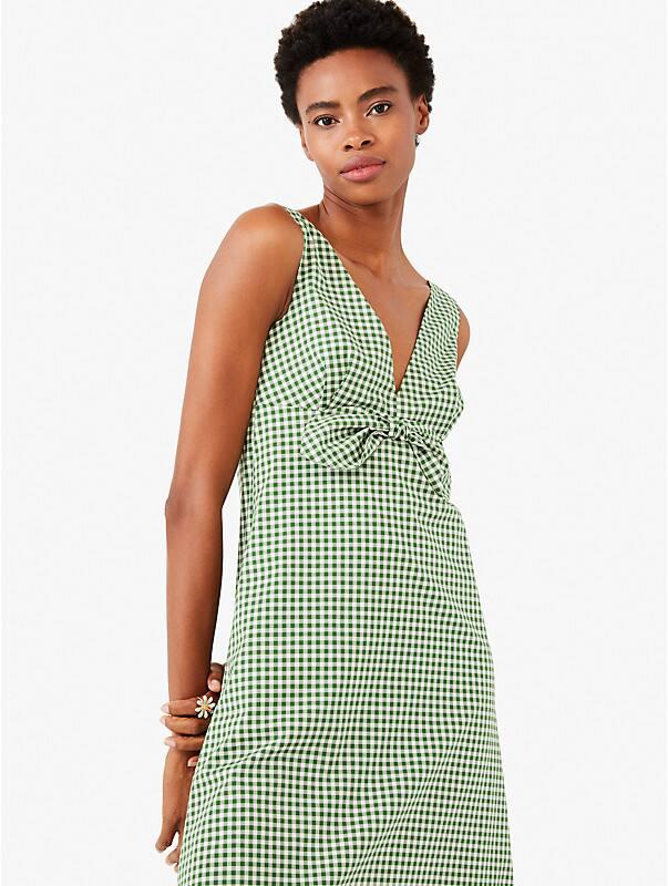 mini gingham bow dress, , rr_large