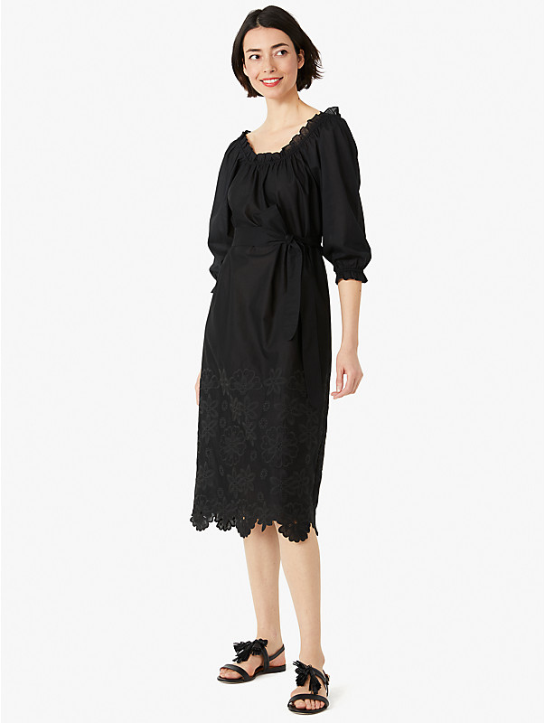 broderie anglaise midi dress, , rr_large