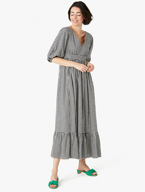 mini gingham bodega midi dress, , rr_large
