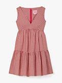 mini gingham vineyard dress, , s7productThumbnail