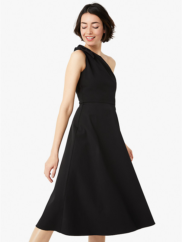 twill one-shoulder dress, , rr_large