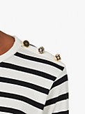 T-Shirt mit Streifen und Schulterknöpfen, , s7productThumbnail